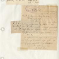 Handwriting sample: Cornelius Lott Shear