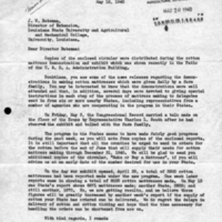 Cotton Mattress Letter