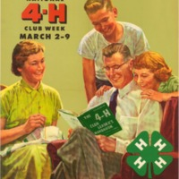 Improving Family and Community Living March 2-9 (1957).