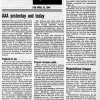 USDA, April 15, 1944 (Newsletter)