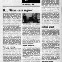 USDA, March 18, 1944 (Newsletter)