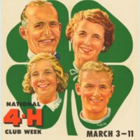 Improving Family and Community Living March 3-11 (1956).