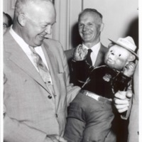 Dwight Eisenhower with Lord Snowdon