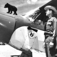 Smokey, Ray Bell and plane