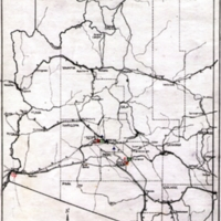 FSA Labor camp maps - Arizona