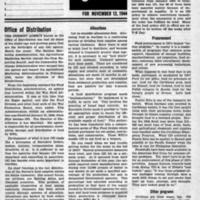 USDA, November 13, 1944 (Newsletter)