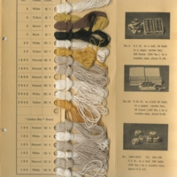 """Thumbnail for the first (or only) page of Tokyo Asaito Spinning Company's """"Ramie Yarns and Threads"""" sample booklet."""
