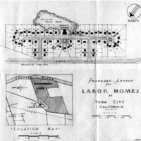FSA Labor camp maps - Yuba City