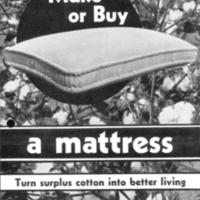 Cotton Mattress Making, cover