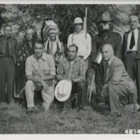 Smokey and Friends visit Flathead Indians and Missoula Smoke Jumpers