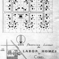 FSA Labor camp maps - Ceres