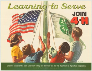 Thumbnail for the first (or only) page of Learning to serve (1968)..