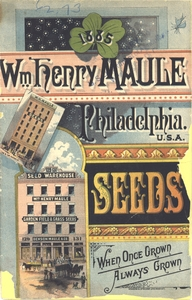 Thumbnail for the first (or only) page of Front Cover of Wm. Henry Maule Seeds.