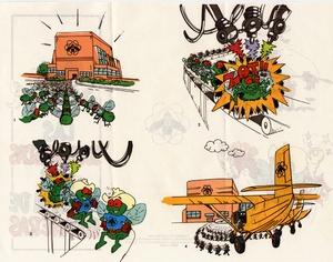 Thumbnail for the first (or only) page of Las Supermoscas Nos Liberan de Gusaneras.
