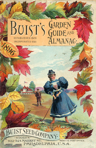 Thumbnail for the first (or only) page of Buist's Garden Guide and Almanac.