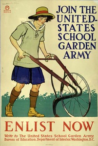 Thumbnail for the first (or only) page of Join the United States School Garden Army.