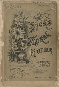 Thumbnail for the first (or only) page of Vick's Floral Guide.