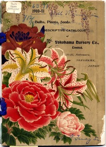 Thumbnail for the first (or only) page of The Yokohama Nursery Co., 1910, Front Cover.