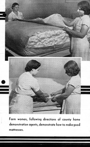 Thumbnail for the first (or only) page of Cotton Mattress Making, p.3.