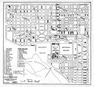 Thumbnail for the first (or only) page of 1920 Map, Washington, DC.