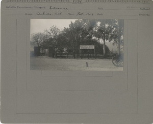 Thumbnail for the first (or only) page of Entrance.