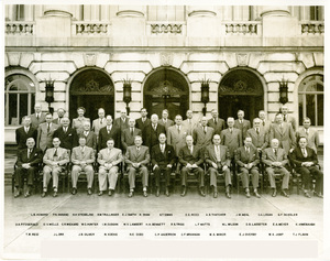 Thumbnail for the first (or only) page of Top Administrators in USDA during World War II (Including Hazel K. Stiebeling).