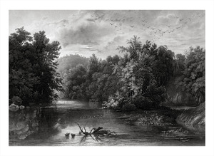 Thumbnail for the first (or only) page of Tableau 1. Forest Scene On The Lehigh .