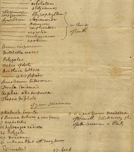 Banks to M. Marshall, 1792