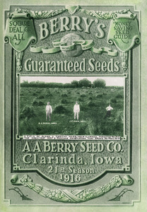 Thumbnail for the first (or only) page of A.A. Berry Seed Co., Berry's Guaranteed Seeds.