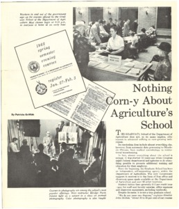 Thumbnail for the first (or only) page of 1962 Spring Semester Evening Courses.