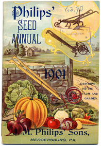 Thumbnail for the first (or only) page of Philips' Seed Annual.