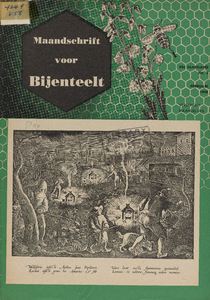 Thumbnail for the first (or only) page of Maandschrift voor Bijenteelt.