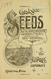 Thumbnail for the first (or only) page of A. I. Root Company's Catalogue of Seeds.