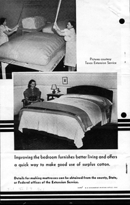 Thumbnail for the first (or only) page of Cotton Mattress Making, p.4.