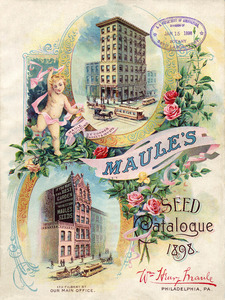 Thumbnail for the first (or only) page of Maule's Seed Catalogue.