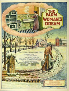 Thumbnail for the first (or only) page of The Farm Woman's Dream.