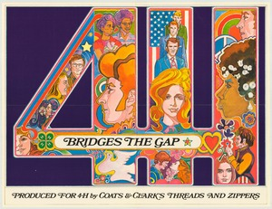 Thumbnail for the first (or only) page of 4-H Bridges the Gap (1971)..