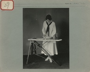 Thumbnail for the first (or only) page of Calorimeter subject ironing clothes, Washington D.C..