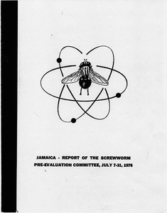 Thumbnail for the first (or only) page of Jamaica - Report of the Screwworm Pre-Evaluation Committee, July 7-31, 1976.