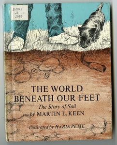 Thumbnail for the first (or only) page of The world beneath our feet; the story of soil.