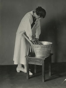 Thumbnail for the first (or only) page of Calorimeter subject washing clothes, Washington D.C..