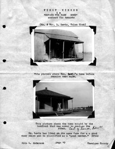 Thumbnail for the first (or only) page of New House. USDA History Collection.
