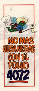 Thumbnail for the first (or only) page of No Mas Gusaneras Con el Polvo 4072.