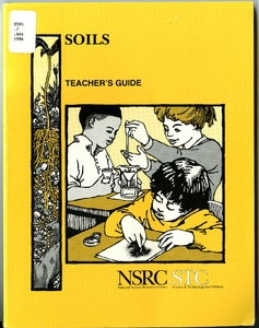 Thumbnail for the first (or only) page of Soils: teacher's guide.