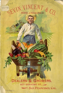 Thumbnail for the first (or only) page of Cover of Sevin, Vincent & Co. Seed Catalogue.