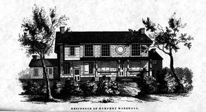 Darlington's Memorials, Marshall's home
