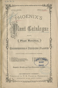 Thumbnail for the first (or only) page of Phoenix's Plant Catalogue.