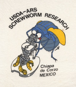 Thumbnail for the first (or only) page of USDA-ARS Screwworm Research, Chiapa de Corzo, Mexico.