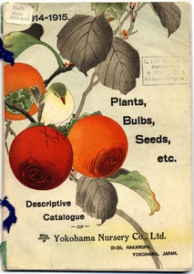 Thumbnail for the first (or only) page of The Yokohama Nursery Co., 1914, Front Cover.