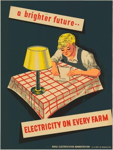 Thumbnail for the first (or only) page of a brighter future... Electricity on Every Farm.